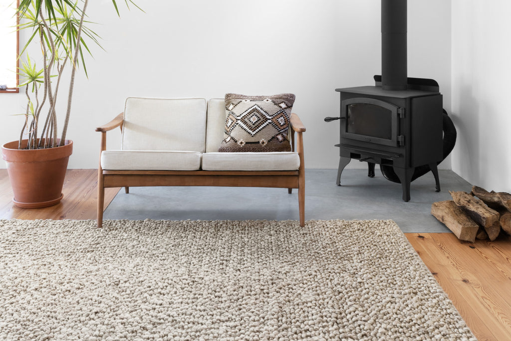 Quarry Rug in Stone by Loloi