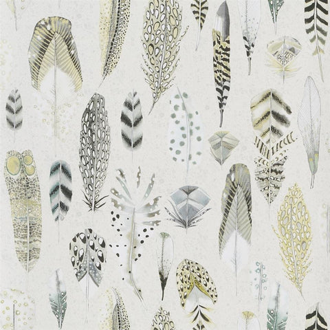 Quill Wallpaper in Vanilla from the Tulipa Stellata Collection by Designers Guild