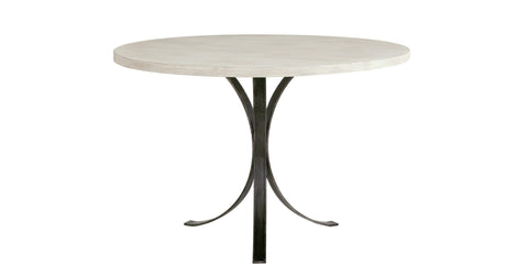 Quincy Round Dinette Table in Beachwood design by Redford House
