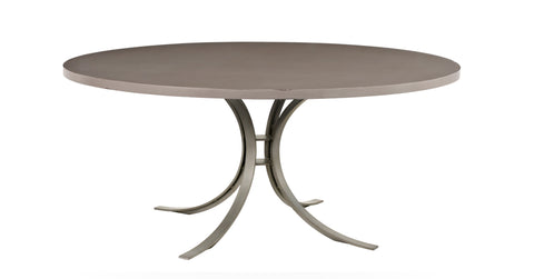 Quincy Round Dining Table in Taupe design by Redford House