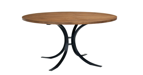 Quincy Round Dining Table in Almond design by Redford House