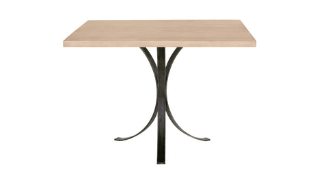 Quincy Square Dinette Table in Cashew design by Redford House