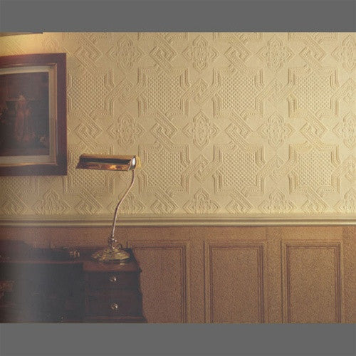 Anaglypta Supaglypta Seymour Classical Paintable Wallpaper by Burke Decor