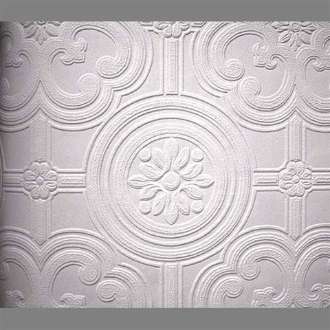 Anaglypta Premium Textured Vinyl Egon Classical Paintable Wallpaper By  Burke Decor ...