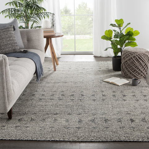 Reign Abelle Rug in Gray by Jaipur Living