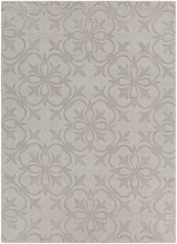 Rekha Collection Hand-Tufted Area Rug in Grey design by Chandra rugs