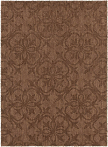 Rekha Collection Hand-Tufted Area Rug in Brown