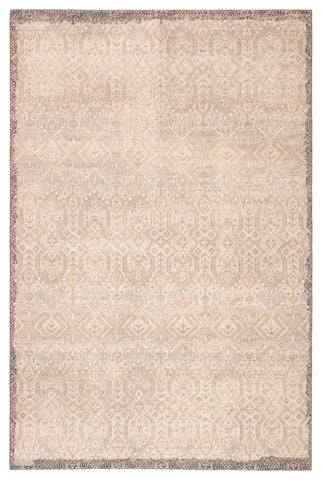 Prospect Hand-Knotted Tribal Gray & Gold Area Rug