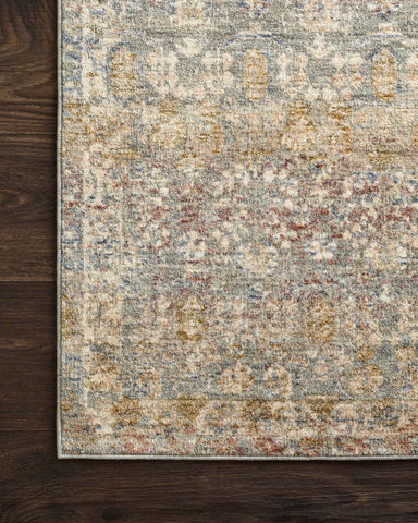 Revere Rug in Grey & Multi by Loloi