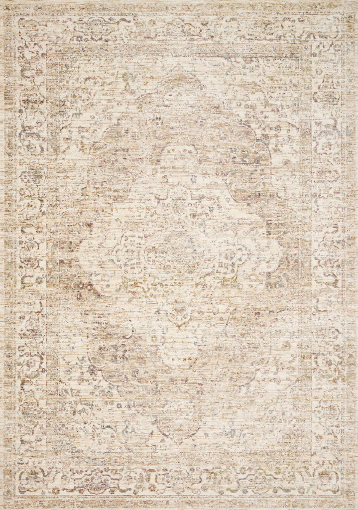 Revere Rug in Ivory & Berry by Loloi