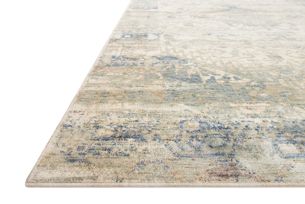 Revere Rug in Ivory / Blue by Loloi