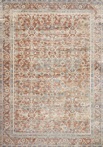 Revere Rug in Terracotta / Multi by Loloi