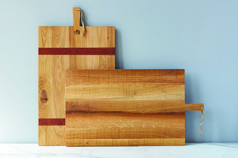 Rectangle Oak Charcuterie Board in Large