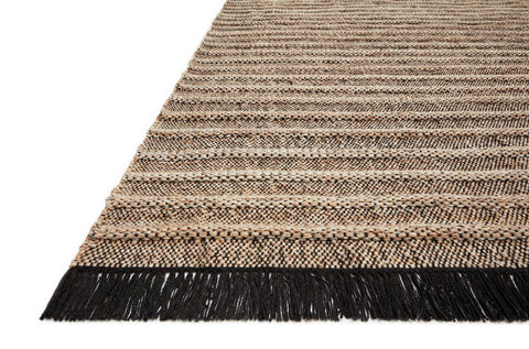 Rey Rug in Camel / Black by Justina Blakeney x Loloi