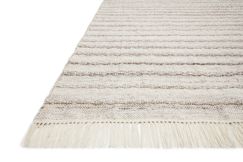 Rey Rug in Silver / Grey by Justina Blakeney x Loloi
