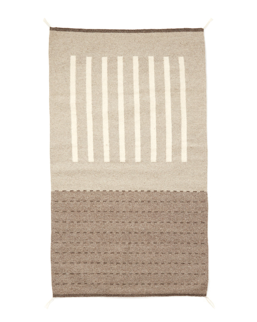 Agnes Rug in Grey design by Minna