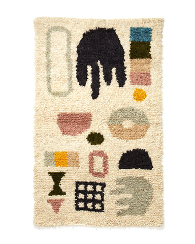 Dream Rug in Bright design by Minna