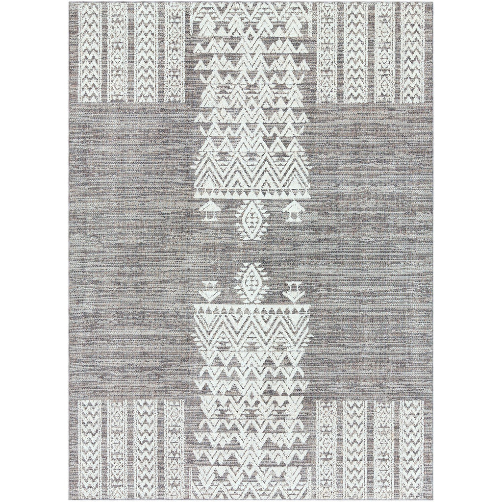 Ariana RIA-2304 Rug in Medium Gray & White by Surya