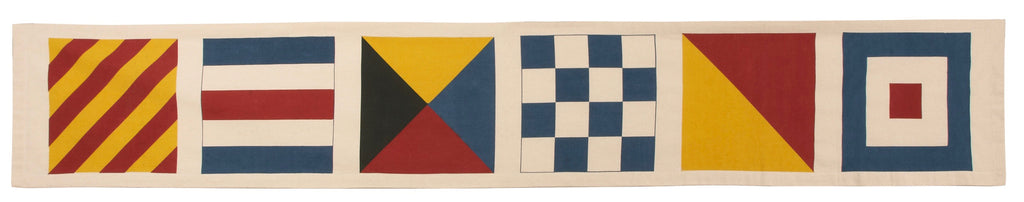 Flags Table Runner design by Thomas Paul