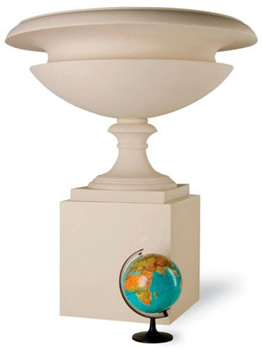 Roman 2 Urn in Stone design by Capital Garden Products