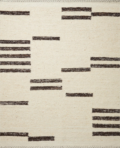 Roman Rug in Natural / Bark by Loloi