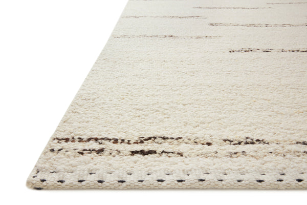 Roman Rug in Ivory / Granite by Loloi
