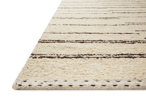Roman Rug in Natural / Charcoal by Loloi