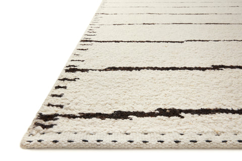 Roman Rug in Ivory / Black by Loloi