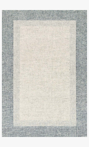 Rosina Rug in Grey & Blue by Loloi