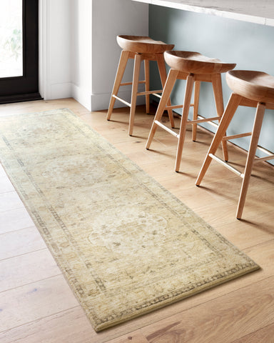 Rosette Rug in Sand / Ivory by Loloi II