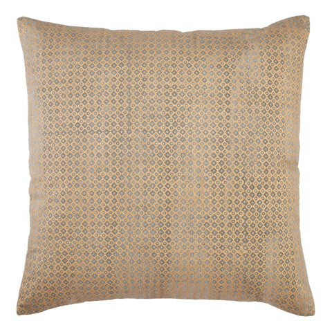 Bayram Trellis Pillow in Gold by Jaipur Living