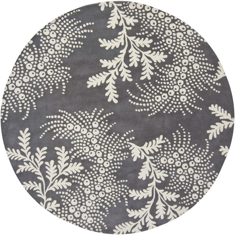 Rowe Collection Hand-Tufted Area Rug in Grey & Ivory design by Chandra rugs