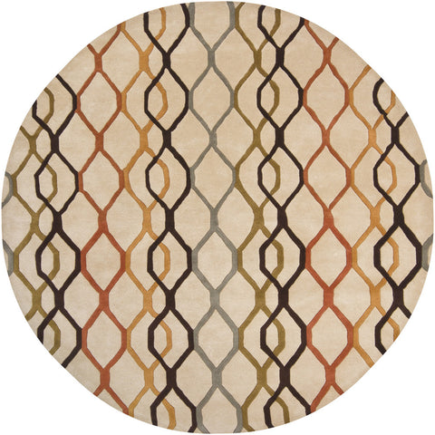 Rowe Collection Hand-Tufted Area Rug in Beige design by Chandra rugs