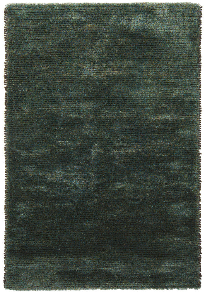 Royal Collection Hand-Woven Area Rug in Blue & Green design by Chandra rugs