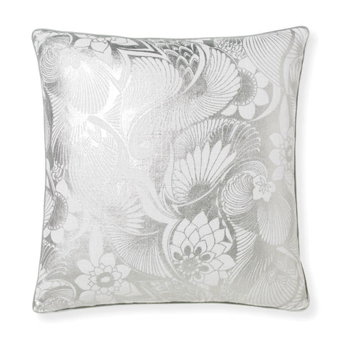Aubrey Silver Pillow design by Florence Broadhurst