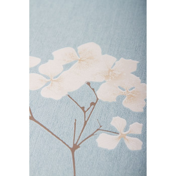 Radiance Wallpaper In Blue And Cream From The Innocence Collection By Graham Brown