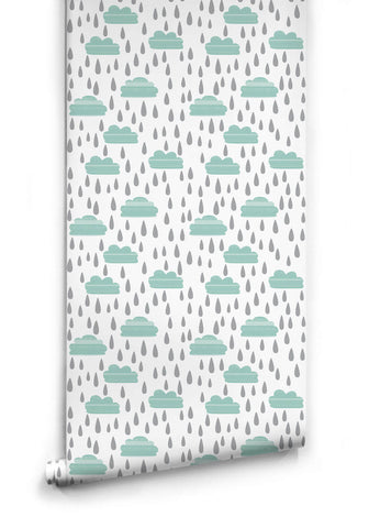 Rainy Days Wallpaper from the Love Mae Collection by Milton & King
