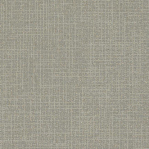 Randing Weave Wallpaper in Smoke from the Moderne Collection by Stacy Garcia for York Wallcoverings