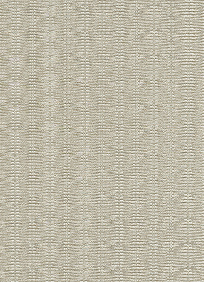 Sample Rattan Wallpaper in Cream and Grey design by BD Wall