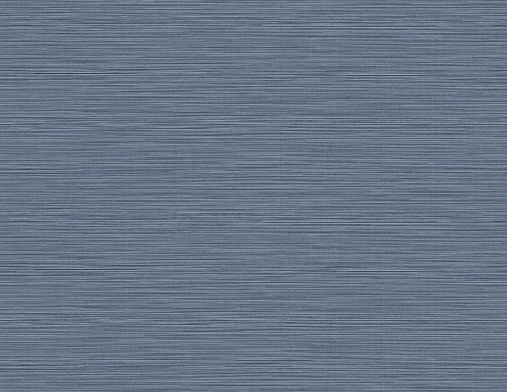Sample Reef Embossed Vinyl Wallpaper in Air Force Blue from the Luxe Retreat Collection by Seabrook Wallcoverings