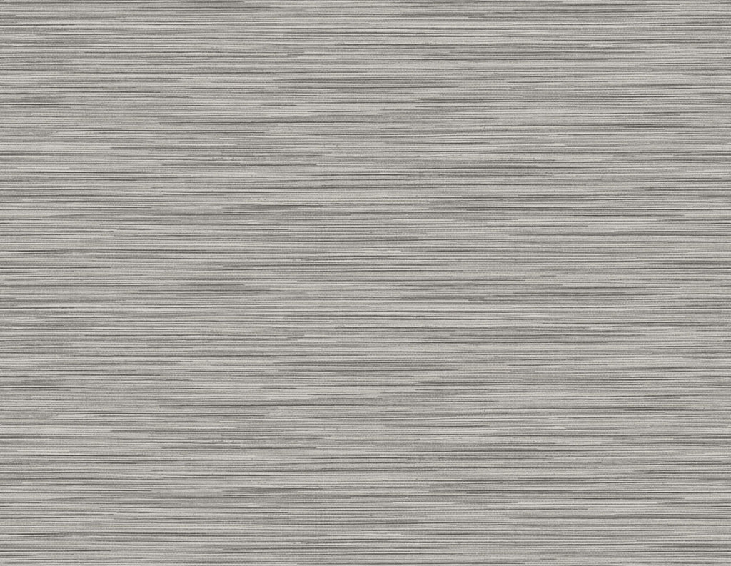 Reef Embossed Vinyl Wallpaper in Charcoal from the Luxe Retreat Collection by Seabrook Wallcoverings
