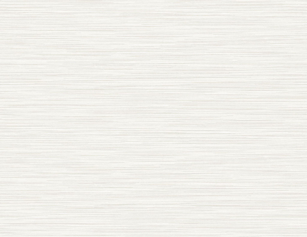 Reef Stringcloth Wallpaper in Ivory from the Luxe Retreat Collection by Seabrook Wallcoverings