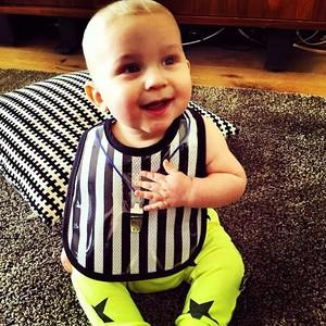 Referee Baby Bib by Mini Maniacs