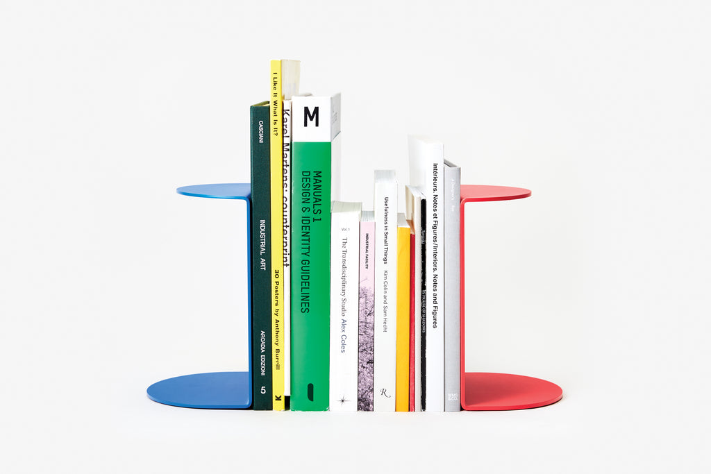 Group Reference Bookend design by Areaware