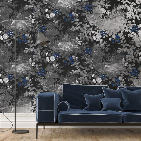 Reflective Pool Wallpaper from the Sanctuary Collection by Mayflower Wallpaper