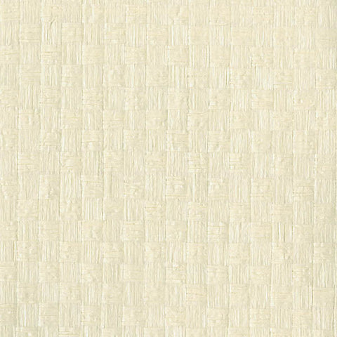 Reka Cream Paper Weave Wallpaper from the Jade Collection by Brewster Home Fashions