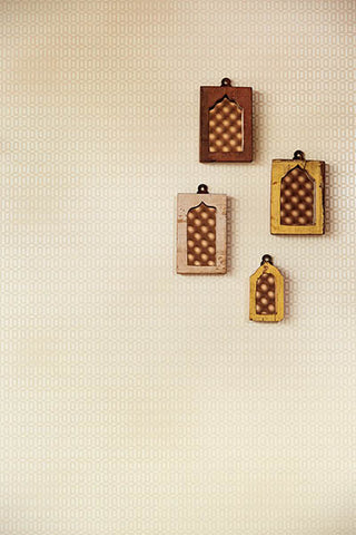 Rhona Geometric Wallpaper from the Venue Collection by Brewster Home Fashions