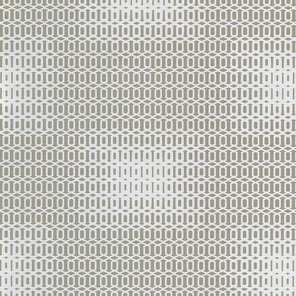 Sample Rhona Pewter Geometric Wallpaper from the Venue Collection by Brewster Home Fashions