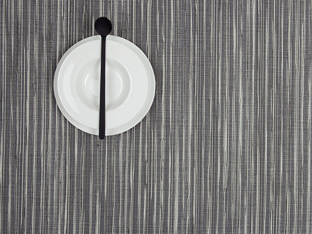 Rib Weave Rectangle Tablemat in Pearl design by Chilewich