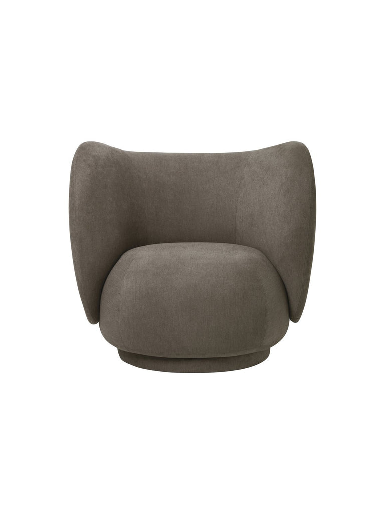 Rico Swivel Lounge Chair by Ferm Living